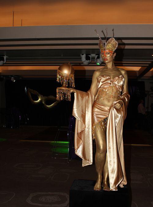 Human Statue Bodyart: Living Statues in Sydney, The Art