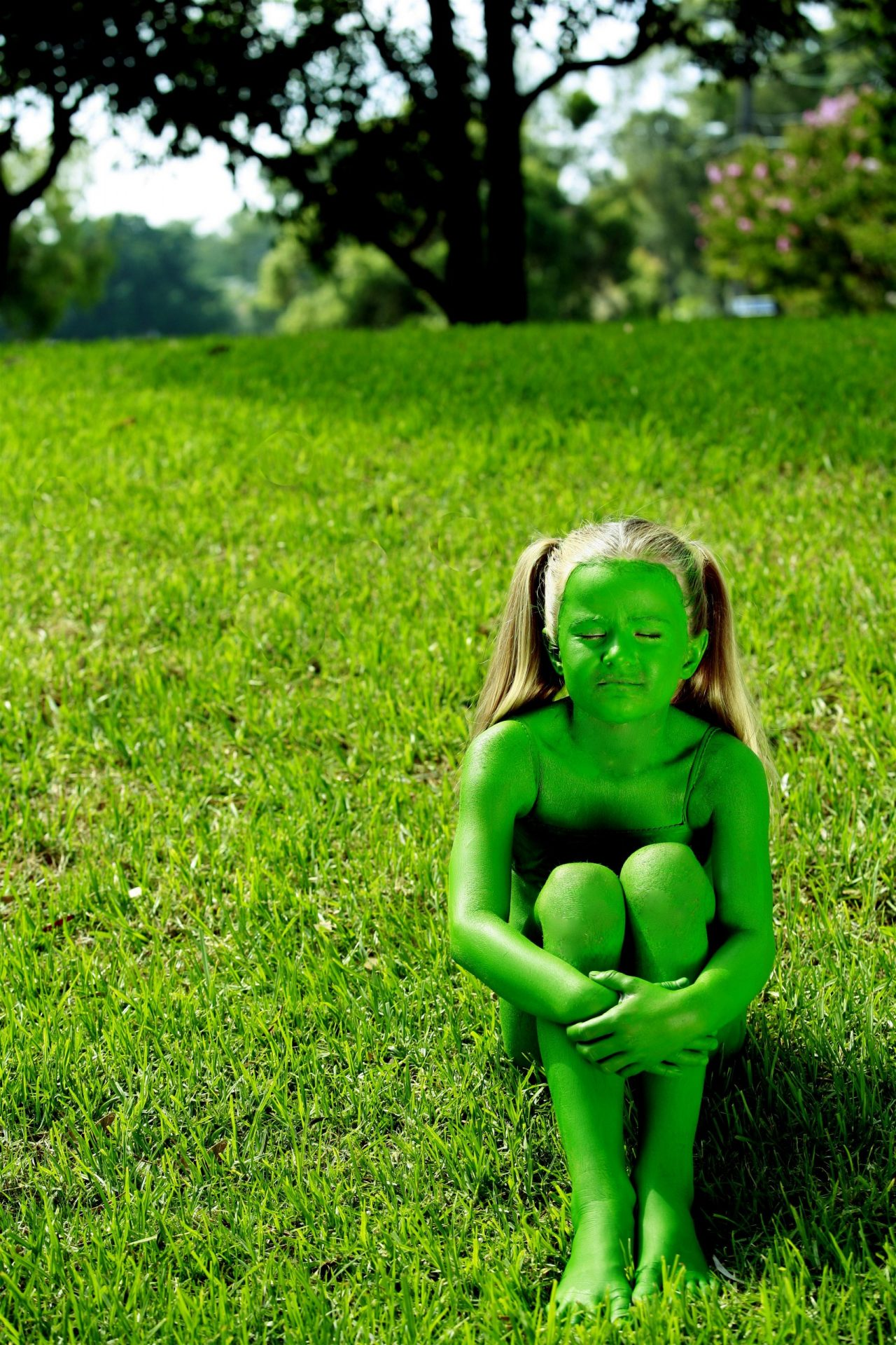Bodypainted Children - Bodypainting - Photography & Film