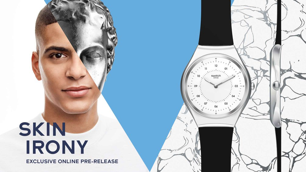 Swatch - Skin Irony Launch